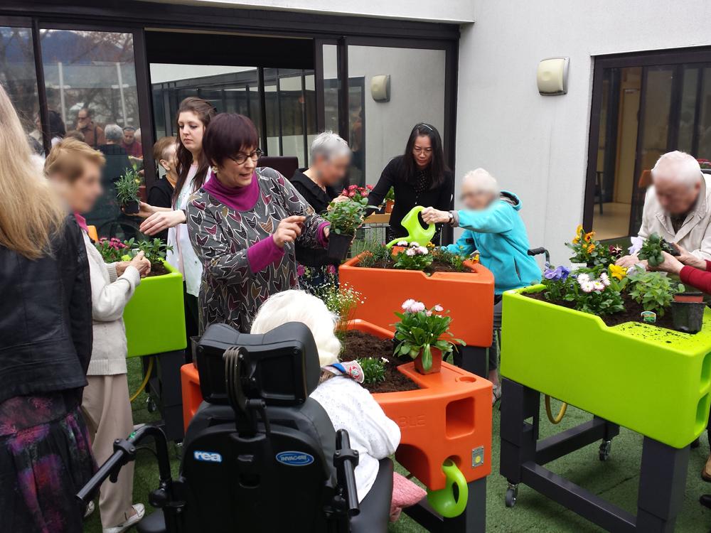 garden age de verdurable dispositif jardinier pour jardins th rapeutiques observatoire de l. Black Bedroom Furniture Sets. Home Design Ideas